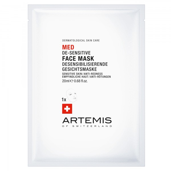 Desensibilisierende Gesichtsmaske