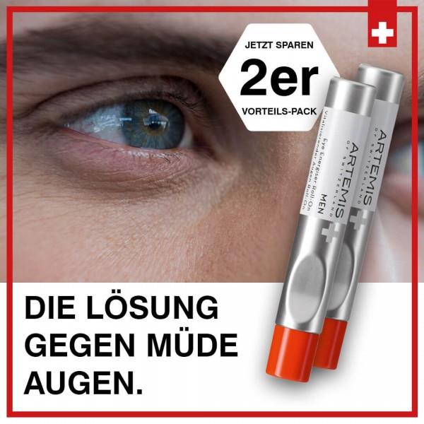 Eye Roll-on for Men - 2er Vorteilspack